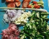 Oseng cumi cabe hijau kecombrang langkah memasak 1 foto