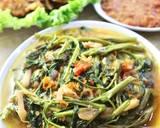 Tumis Kangkung Jamur langkah memasak 3 foto