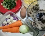 Nugget jamur tiram dan sayuran langkah memasak 1 foto