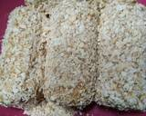 Roti gulung sosis oatmeal langkah memasak 3 foto