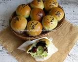 Eggless Pandan Cup Bread langkah memasak 20 foto