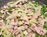 Ham and pea frittata recipe step 3 photo