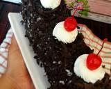 Blackforest Roll Cake langkah memasak 6 foto