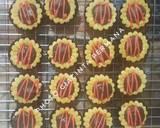 Kukis Cup toping selai Nanas dan Coklat dark #RabuBaru langkah memasak 5 foto