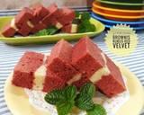 408. Brownies Kukus Red Velvet #PR_BrowniesDCC langkah memasak 16 foto