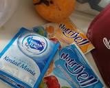 Jelly mangga susu langkah memasak 1 foto