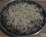 Black Pizza langkah memasak 5 foto