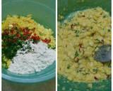 Bakwan jagung langkah memasak 2 foto