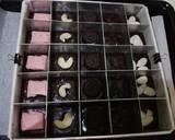 Brownies Sekat langkah memasak 7 foto