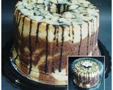 Fluffy Marmer Chiffon Cake langkah memasak 9 foto