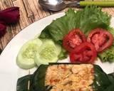 Pepes Nasi Ayam Tahu / Nasi Bakar langkah memasak 5 foto