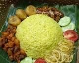 Nasi Kuning langkah memasak 4 foto