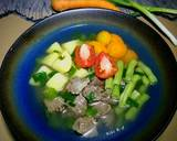 Sup Daging Sapi Bening Segerr langkah memasak 6 foto