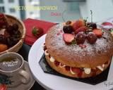 Victoria Sandwich Cake langkah memasak 4 foto