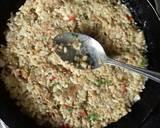 Nasi panggang teplon langkah memasak 2 foto