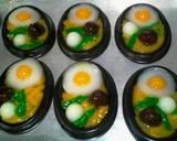Puding mie telur langkah memasak 12 foto