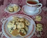 Eggless chocolate chip Cookies (versi teplon) langkah memasak 7 foto