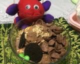 Es kepal Milo ala fe #rabubaru langkah memasak 7 foto