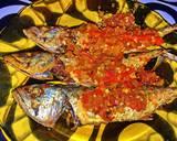 Ikan kembung goreng sambal asam langkah memasak 7 foto