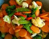 Tumis brokoli langkah memasak 8 foto