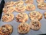Gluténmentes sajtos, magos csiga recept lépés 4 foto