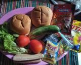 Burger dengan aneka isian langkah memasak 1 foto