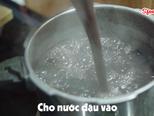 Cách nấu CHÈ ĐẬU ĐEN Nhanh Mềm, Ngọt Bùi, Ngon Sánh Mịn bước làm 4 hình