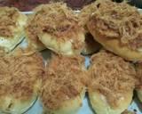 Roti Abon keju a.k.a beef floss bun cheese langkah memasak 13 foto