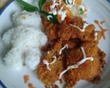Chicken Katsu #pekaninspirasi langkah memasak 7 foto