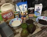 BROWKAT #browniesAlpukat langkah memasak 1 foto