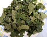 Kumro Pata Bata (Tender Pumpkin Leaves Chutney - Bengali Style) recipe step 1 photo