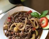 Beef yakiniku (japanese food) langkah memasak 5 foto