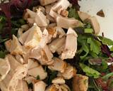 Roasted Chicken and Spring Onions, with Lime and Oil dressing, served in a Green Salad recipe step 5 photo