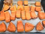 Gluténmentes sütőtökös zsemle recept lépés 1 foto
