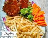 Bestik Daging/ Beef Patty langkah memasak 5 foto