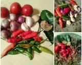 Nasi Bakar isi Udang Balado langkah memasak 2 foto