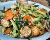 Tumis Tofu Ceker langkah memasak 7 foto