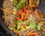Ca Brokoli Daging Cincang Saus Tiram langkah memasak 5 foto