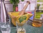 Foto del paso 2 de la receta Salmón a la plancha con aderezo y berenjenas