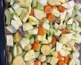 Zupa krem z pieczonych warzyw🌱 krok przepisu 1 zdjęcie