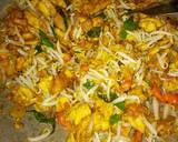 Dadar Telur Cah Toge langkah memasak 3 foto