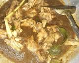 Rawon Ayam menu makan siang langkah memasak 2 foto