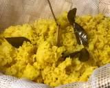 Nasi kuning Tumpeng langkah memasak 8 foto