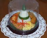Tumpeng mini nasi uduk simple magicom langkah memasak 6 foto