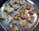 Tandoori Khaman (Khaman made in Microwave with a twist) recipe step 3 photo