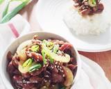 Beef Teriyaki ala hokben langkah memasak 7 foto