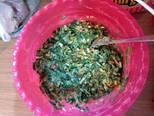 Foto del paso 3 de la receta Buñuelos de Espinaca