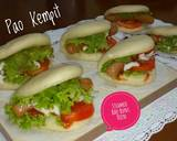 Steamed Bao Buns/Pao Kempit/Pao Sandwich langkah memasak 9 foto