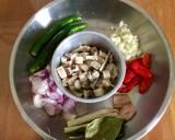 Nasi liwet ikan asin (brown rice) langkah memasak 1 foto