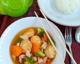 Sapo Tahu Ayam langkah memasak 5 foto